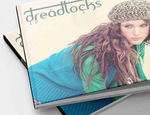 עיצוב קטלוג עבור בית האופנה dreadlocks